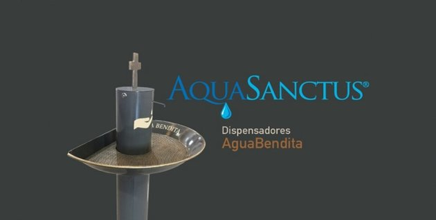 dispensador agua bendita